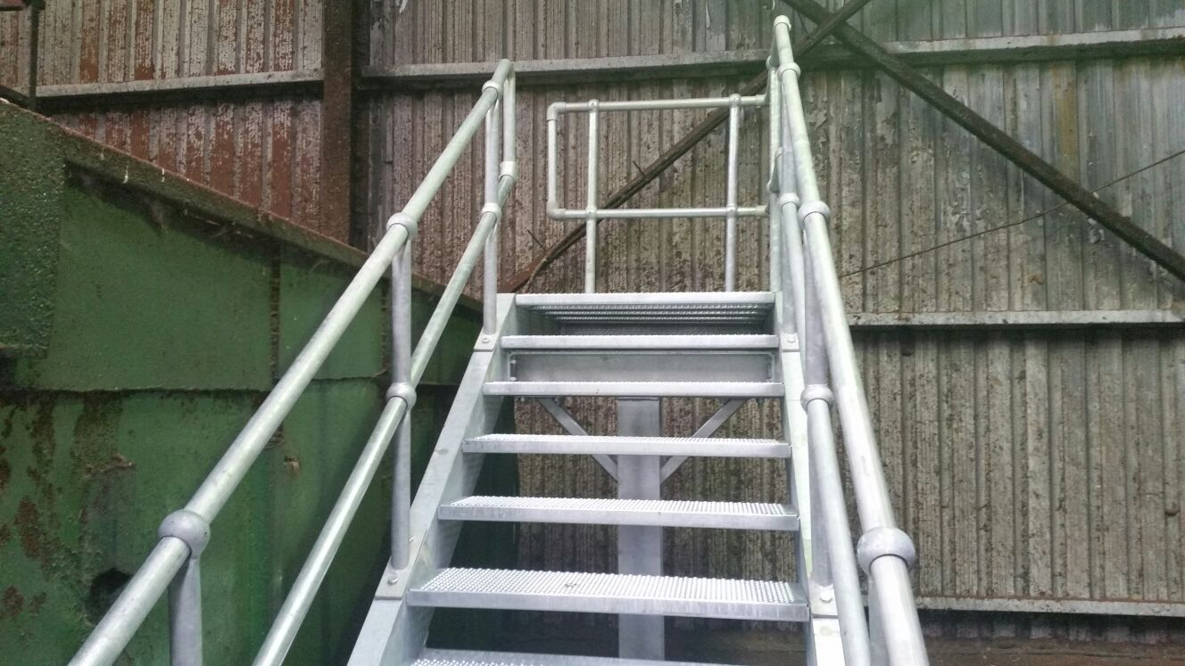 Industrial Staircase 1