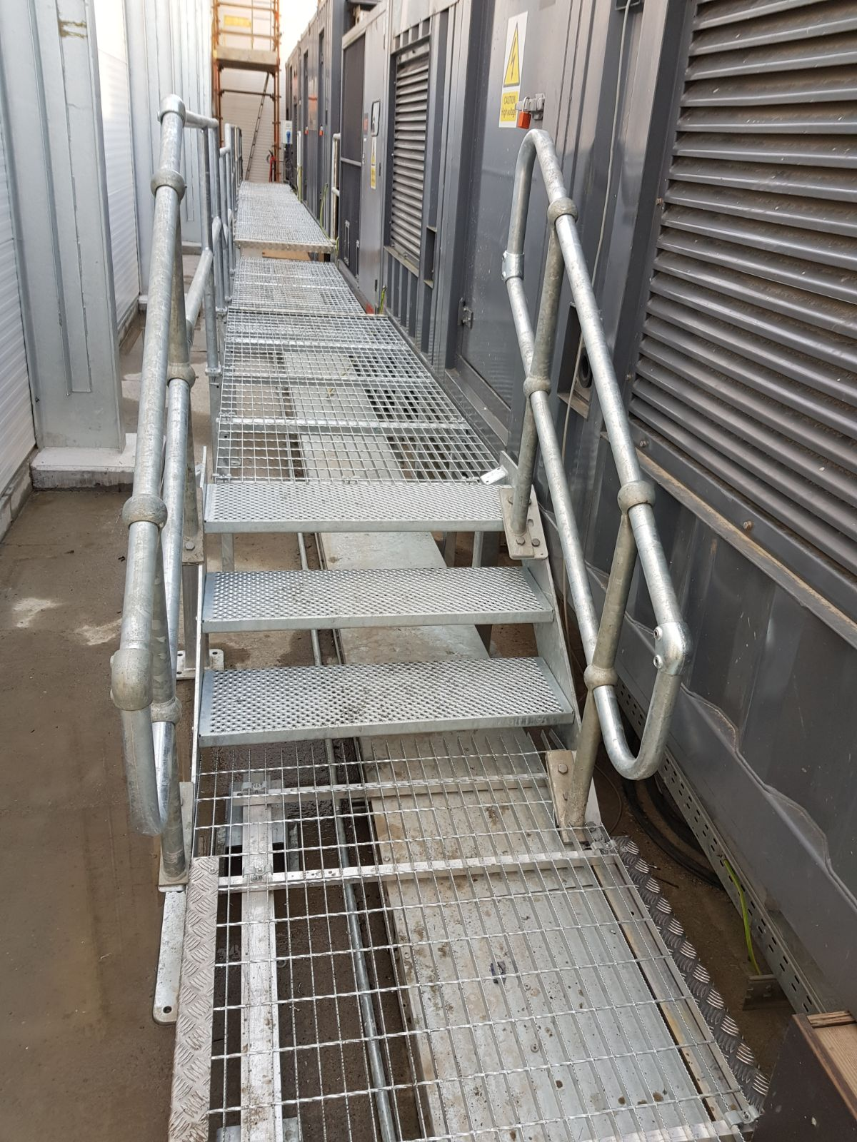 Industrial Steps and Handrail 2