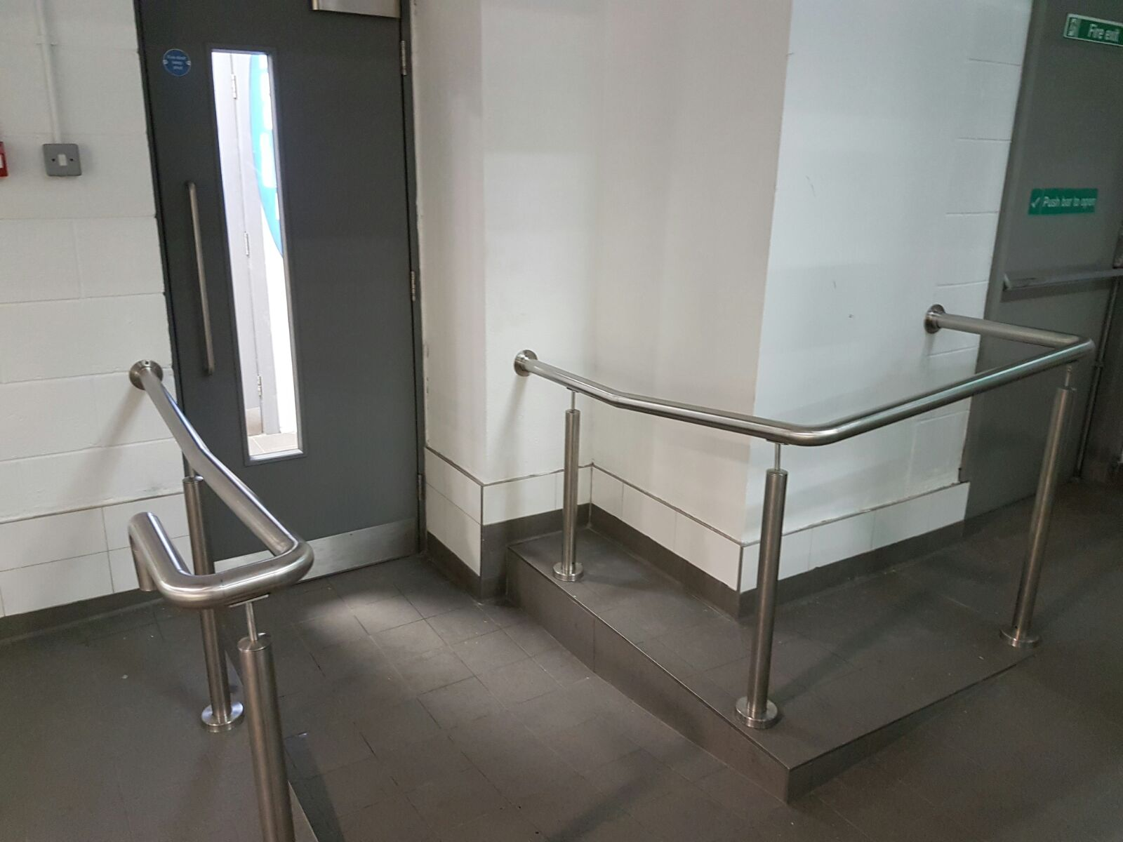 Stainless steel handrail 2